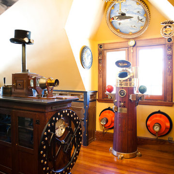 My Houzz: My Houzz: Wondrous Steampunk Style for a Massachusetts Victorian