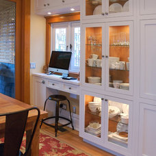 Transitional Home Office by Heather Merenda