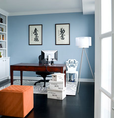 modern home office by Cynthia Lynn Photography