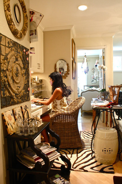 Eclectic Home Office by Shannon Malone