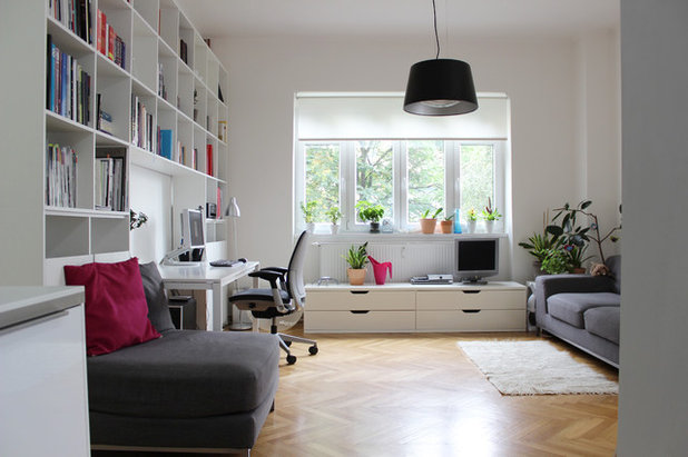 Contemporary Home Office by Martin Hulala