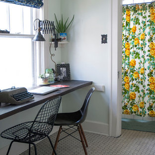Home office - transitional home office idea in Columbus