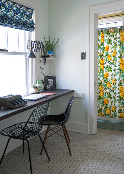 Transitional Home Office by Adrienne DeRosa