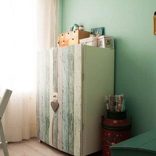 На фото: кабинет в стиле шебби-шик
