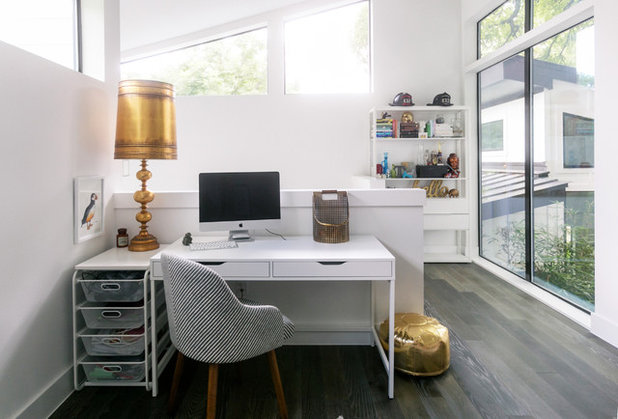 Contemporary Home Office by Heather Banks