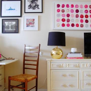 My Houzz: Sweet Sophistication for a Manhattan Studio