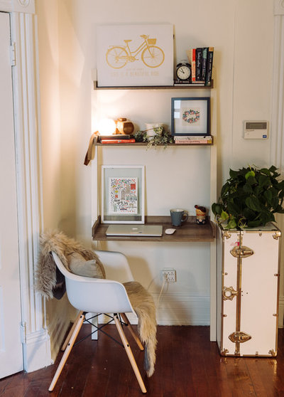 Eclectic Home Office by Hado Photo