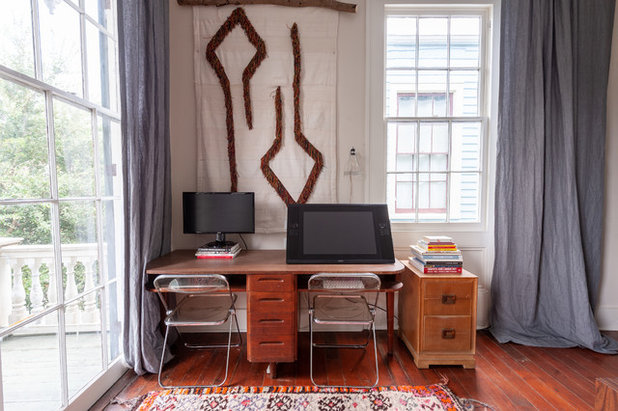 Eclectic Home Office by Kayla Stark