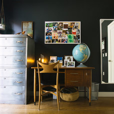 Contemporary Home Office by Nanette Wong