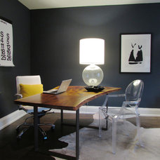 Contemporary Home Office by Jenn Hannotte / Hannotte Interiors