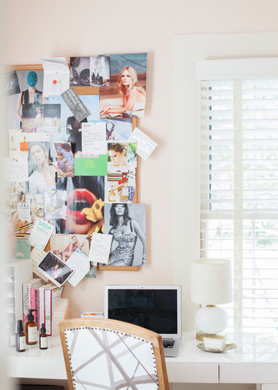 Tropical Home Office by Margaret Wright Photography