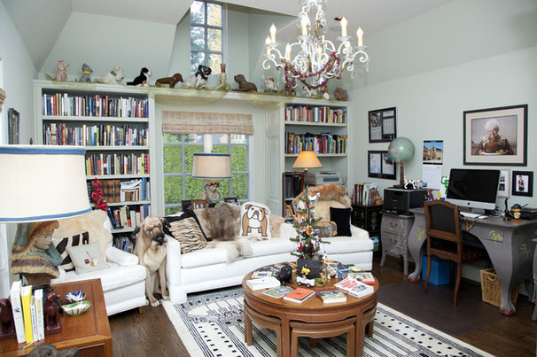 Eclectic Home Office by Whitney Lyons