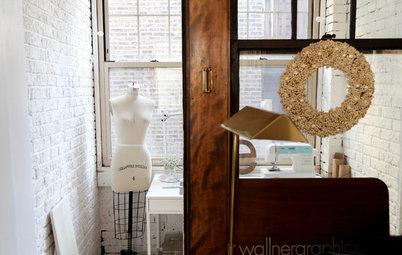 My Houzz: Wood-and-White Charm and a Dreamy Sewing Nook