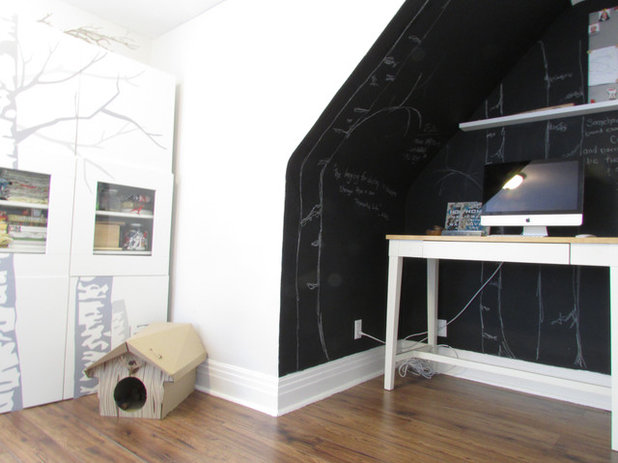 My Houzz Youthful Freshness For A Traditional Toronto Home