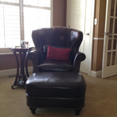 Traditional Home Office My Leather Chair
