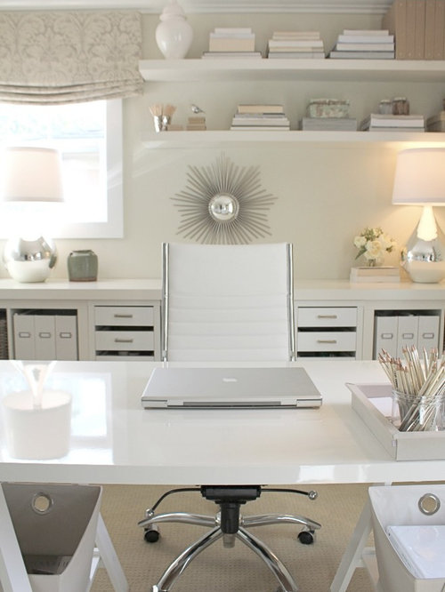 White Home Office Houzz