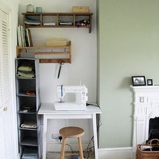 Eclectic Home Office my pocket workspace via desiretoinspire