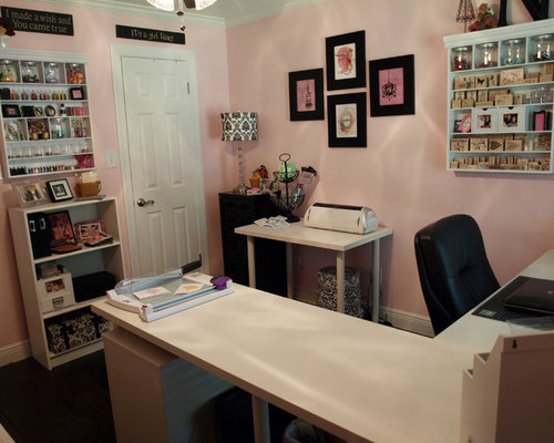 Craft studio home design ideas pictures remodel and decor for Office design 10x10