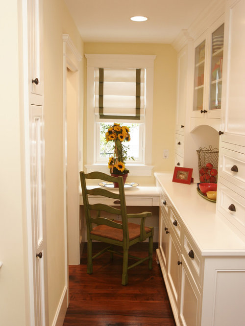 Small Home Office Designs Photos: Narrow Office Space