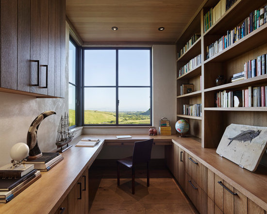 rustic home office design ideas remodels photos. beautiful ideas. Home Design Ideas