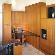 Asian Home Office by Busby Cabinets