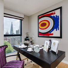Eclectic Home Office by Chris Snook