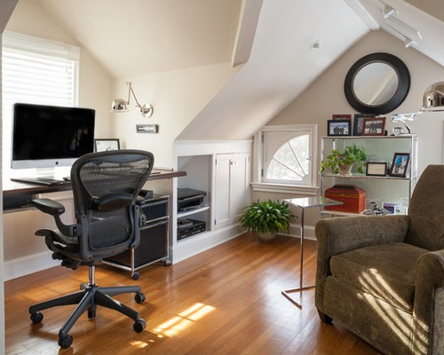Attic Home Office Houzz