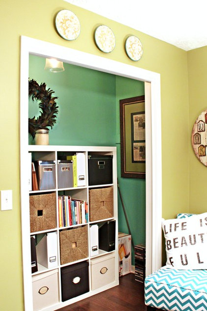 Eclectic Home Office by Southern Hospitality