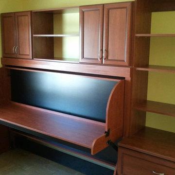 New hidden bed home office