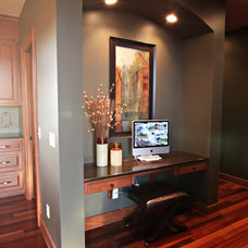 Traditional Home Office by DEICHMAN CONSTRUCTION