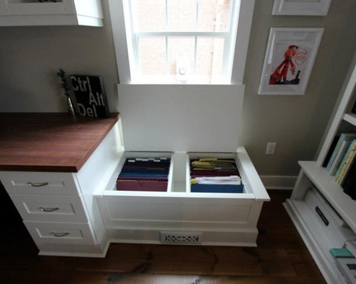 Built In File Cabinet | Houzz