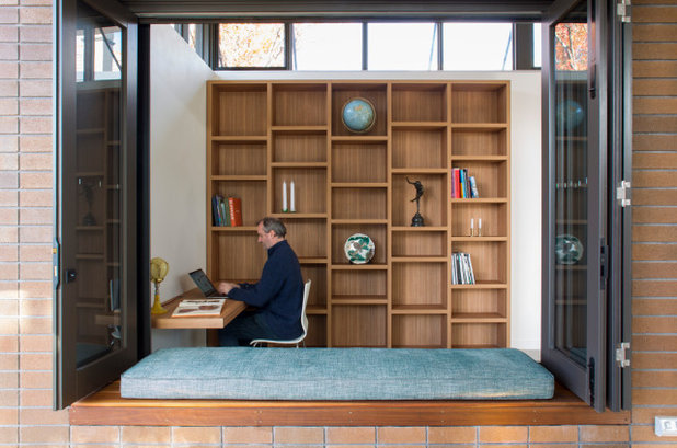 Современный Кабинет by Danny Broe Architect