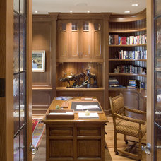 Traditional Home Office by TEA2 Architects