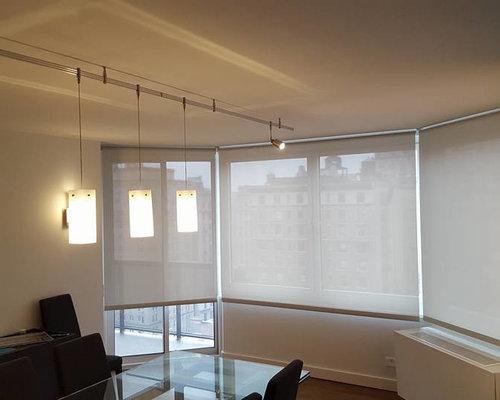 New York City Solar Shades Roller Shades Manhattan Bay Window Shades