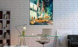 New York Loft Style Home Office