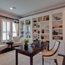 Traditional Home Office by Newmark Homes