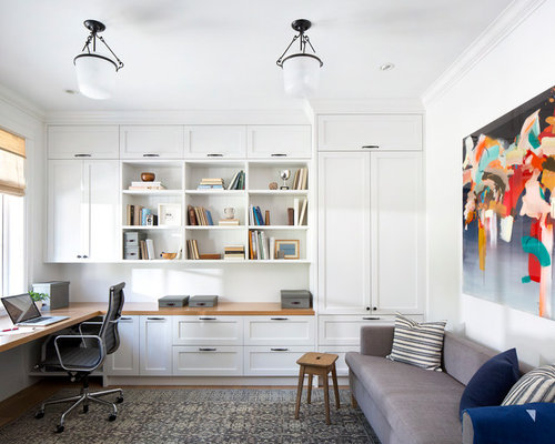Houzz Beach Style Home Office Design Ideas Remodel Pictures