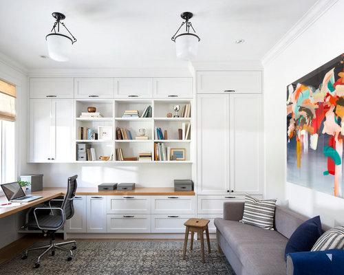 bureau bord de mer photos et id es d co de bureaux. Black Bedroom Furniture Sets. Home Design Ideas