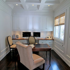 Traditional Home Office by Prestige Mouldings & Construction, Inc.