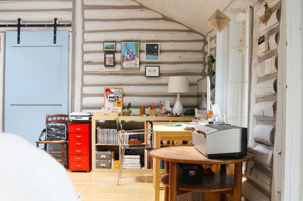 Éclectique Bureau à domicile by Jeff Jones Snap It Photography