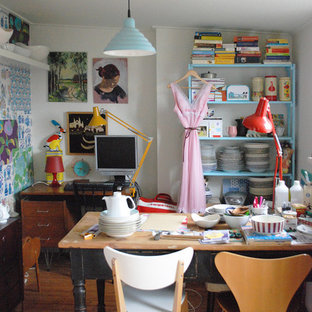 Design ideas for a vintage craft room in Amsterdam.