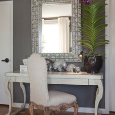 Contemporary Home Office by Candace Barnes