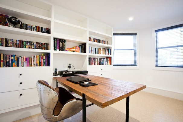 Modern Home Office by Mason Miller Architect