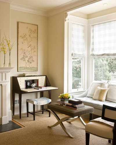 Traditional Home Office by Riguerra Design