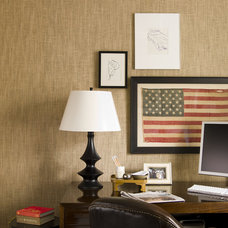 Contemporary Home Office by Thom Filicia Inc.