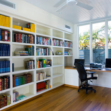 Contemporary Home Office by Tim Ditchfield Architects