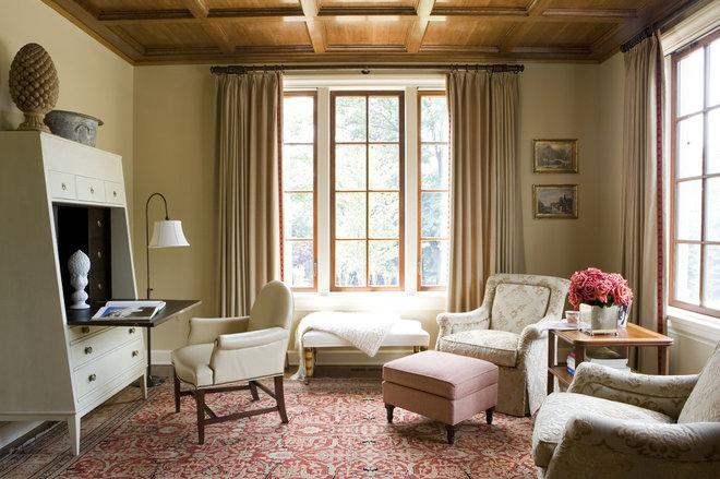 Mediterranean Home Office by Cusano Associates Architecture + design