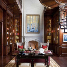 Traditional Home Office by Dallas Design Group, Interiors