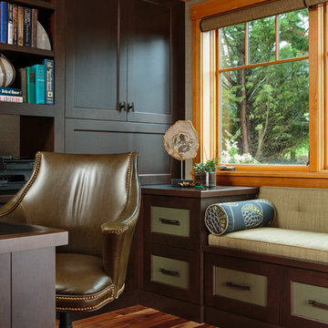 Northwest Contemporary Home Office