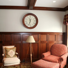 Traditional Home Office by JB Robbie Builders Inc.